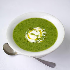 Summer Pea & Watercress Soup