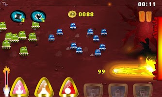 Screenshot of Fire Defense