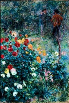 Renoir-Jardin dans la Rue Cortot