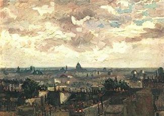 Van Gogh-Vue de Paris