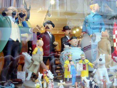 La Charrue Et Les Etoiles-Tintin