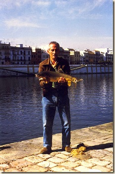 012 Papá en río