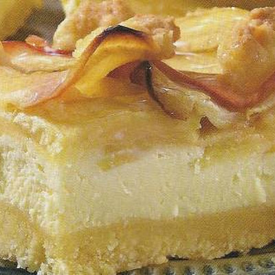 Appel-cheesecake