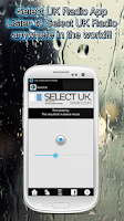 Screenshot of Select UK Radio