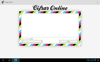 Screenshot of Cifrar Online