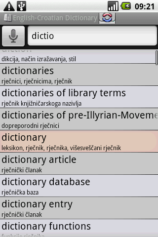 BK English-Croatian Dictionary