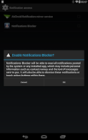 Screenshot of Notify Block