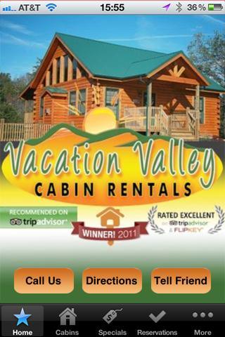 Vacation Valley Cabin Rentals