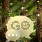 Free GO SMS Pro Theme forest APK for Windows 8