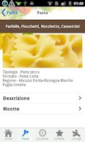 Screenshot of La pasta