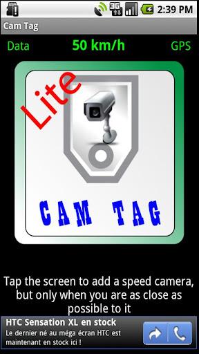 Cam Tag Lite Speed Cameras