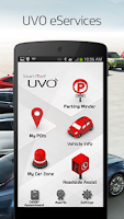 Screenshot of UVO eServices
