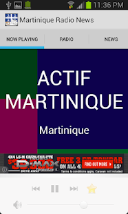 Martinique Radio News - screenshot