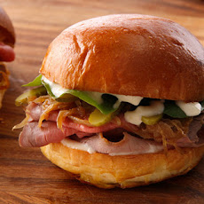 Roast Beef and Caramelized Onion Sliders Recipe