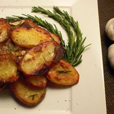 Roasted Little Red Potatoes & Garlic