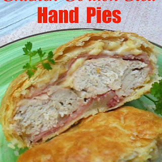 Chicken Cordon Bleu Hand Pies