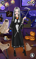 Screenshot of Halloween Salon