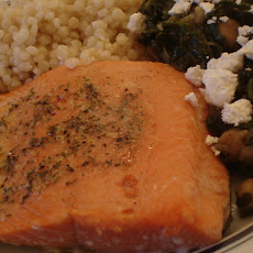 Sear-Roasted Salmon With Lemon Ginger Butter