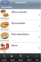 Screenshot of Pizza maule , Livraison pizza