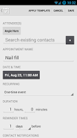 Screenshot of Appointment Keeper