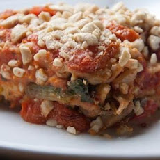 Engine 2 Raise the Roof Sweet Potato Vegetarian Lasagna