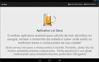 Screenshot of Lei Seca - Bafômetro Virtual