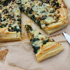 Spinach & Onion Puff Tart