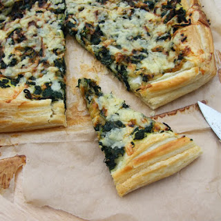 Puff Pastry Cheese And Onion Tart Recipes