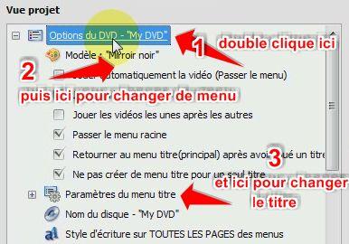 personnaliser menu convertxtdvd
