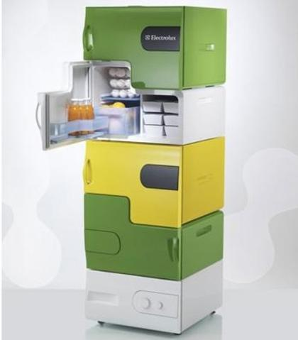 Electrolux Flatshare fridge designed for squabbling students