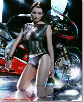 Dannii-Minogue-bikini-Motorcycle-6