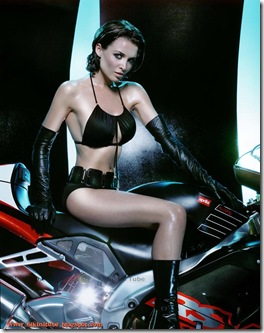 Dannii-Minogue-bikini-Motorcycle-4