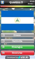 Screenshot of Geography Quiz Game