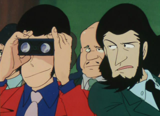 Lupin and Jigen at the opera
