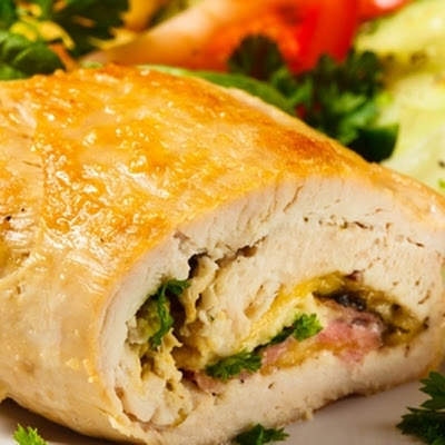 Honey Mustard Stuffed Pork