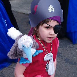 Arrrg a Parade Pirate! by Rebecca Horst - News & Events Entertainment ( parade, children candid, festival, costume play, pirate )