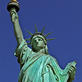 Statue of Liberty by Steven Aicinena - Buildings & Architecture Statues & Monuments ( ststue of liberty, new york )