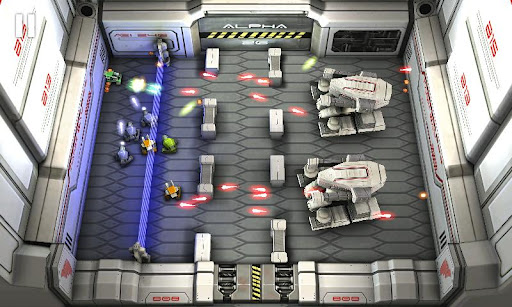 tank-hero-laser-wars for android screenshot