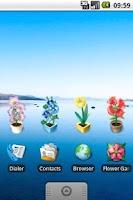 Screenshot of Flower Garden beta version