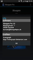 Screenshot of Bluegate Pro