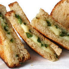 Sautéed Jalapeño and Aged Jack Grilled Cheese  Recipe