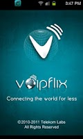 Screenshot of Voipflix - Cheap  & Free Calls