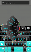 Screenshot of Color Neon Keyboard