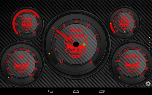 SkullZ Torque Theme OBD 2 - screenshot