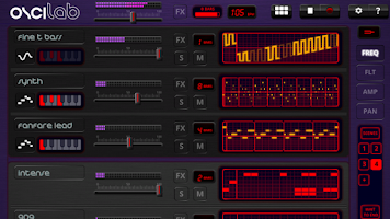 Screenshot of Oscilab - Step Sequencer