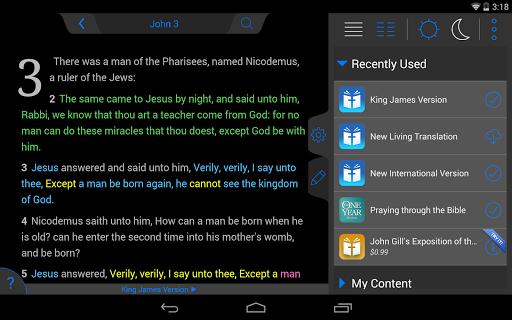 NIV Bible - screenshot
