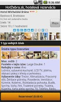 Screenshot of Hotel booking - HotZebra