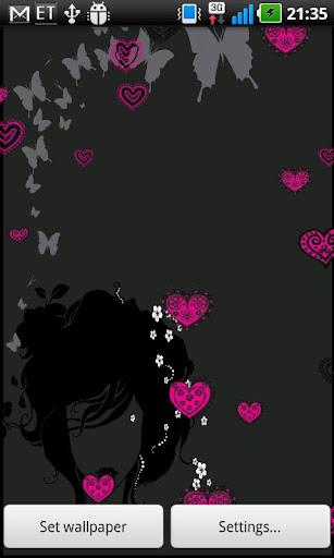 Crazy Hearts Wallpaper