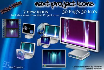 Иконки в стиле Windows Vista