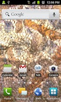 Screenshot of Flow Live Wallpaper